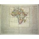 Carte de L'Afrique selon les Auteurs Anciens