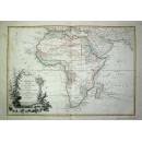 Afrique divisee En Ses Principaux Etats