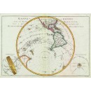 Mappe - Monde Hemisphere Occidental