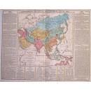 Geographical, Statistical and Historical Map of Asia