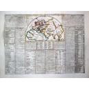 Carte-De La geographie Des Empires des Assiriens