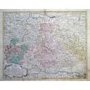 Tab: Geogr: Circ Franconiae.....Regni Bohemiae...Silesiae