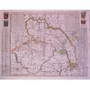 Carte du Royaume de Boheme...Les Etats de Silesie...