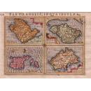 Tab VII Angliae in Qua Insulae