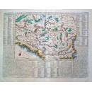 Carte Ancienne et Moderne....Au Long du Danube