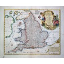 A New & Very Accurate Map of South Britain or England & Wales