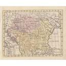 Geogr. Charta ofwer Ungern