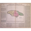 Geographical, Statistical and Historical Map of Jamaica