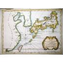 Karte von den Eylanden von Japan