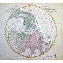 Tabula Geographica Hemisphaerii Borealis