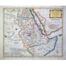 Nieuwe en Naauwkeurige Landkaart van Nubie en Abissinie