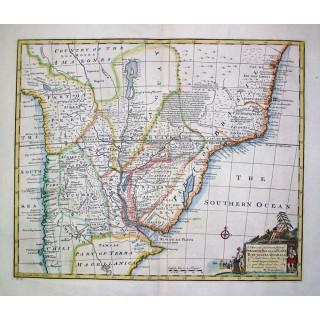 A New & Accurate Map of Paraguay, Rio de la Plata, Tucumania....
