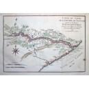 Carte du Cours de La Riviere du Saguenay