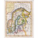 La Suede, Norvege et Danemarck