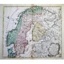 Tabula Geographica Regnorum Sveciae, Daniae et Norwegiae