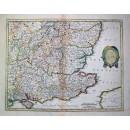 Warwickum, Northamptonia.....Surria, Cantium et Southsexia