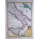 A New and Accurate Map of the Kingdoms of Naples & Sicily