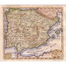 A New Map of Hispania and Portugallia