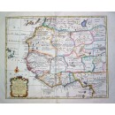 Nieuwe en Naauwkeurige Landkaart van Nigritie