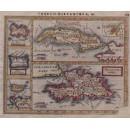 Cuba Insula,Hispaniola Ins, Ins Jamaica