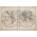 Mappe Monde en Deux Hemispheres
