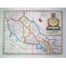 A New Map of Latium, Erutria..