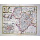 A New & Accurate Map of Savoy, Piemont and Montferrat